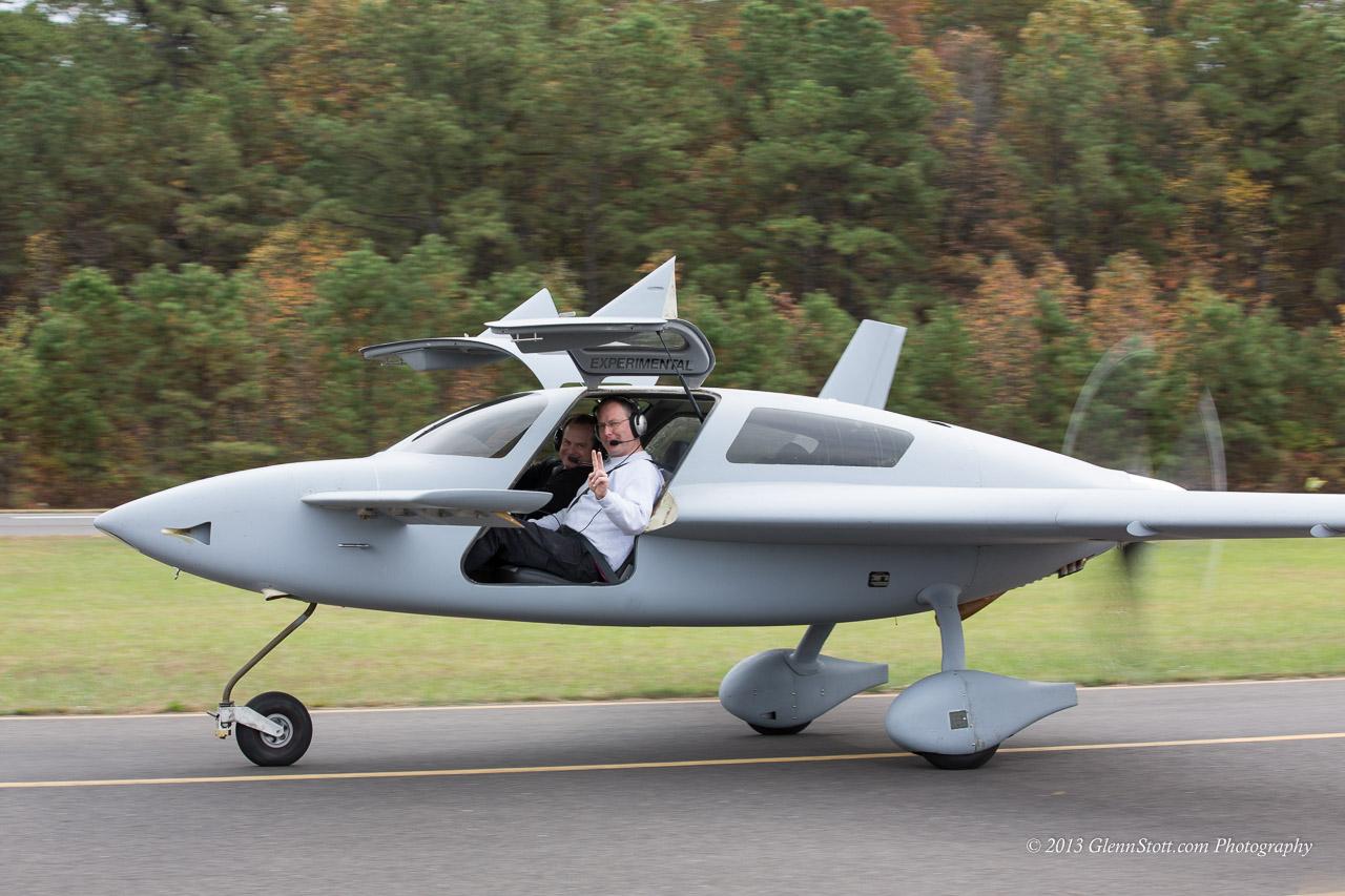 Jeremy Solomon in his new Velocity N1024N